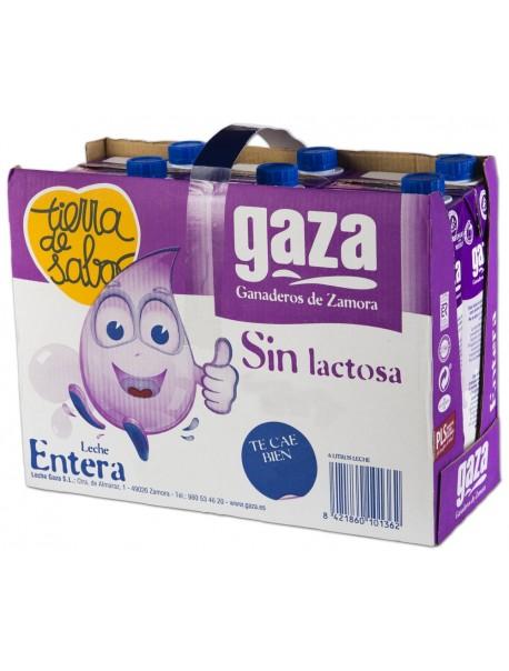 Leche Entera Sin Lactosa 1L (x6)
