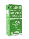 Leche Semidesnatada La marca de los consumidores 1L (x6)